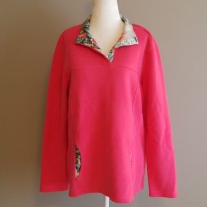 Tommy Bahama pink pullover